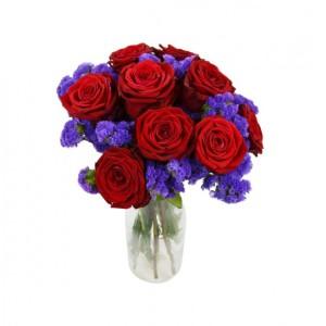 Barevná kytice - rozvoz květin