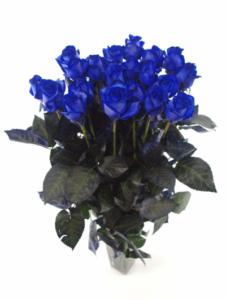 Dárek k Valentýnu - modré růže z lásky